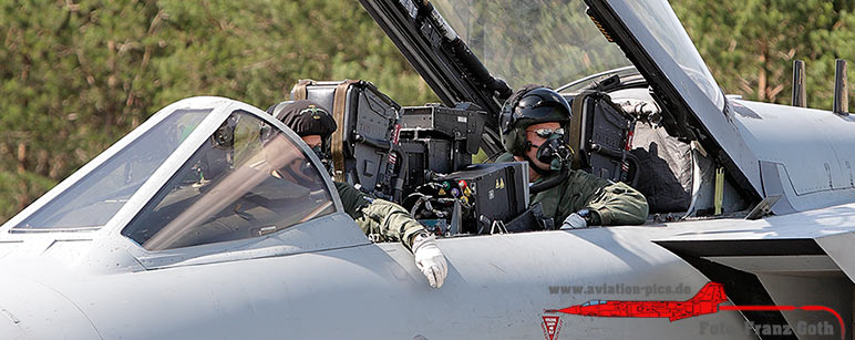 Pilot & WSO Tornado GR.4A, ZG714/124, 9 Squadron, Royal Air Force